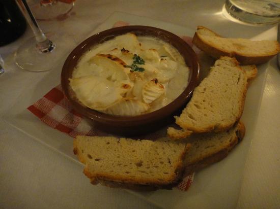 Aubergine: Cheese gratin