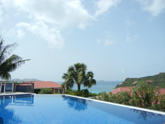 Hotel LeVillage St Barth: view from pool