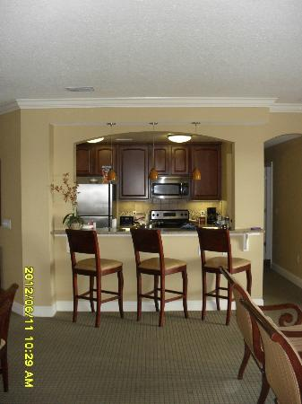 Lighthouse Key Resort and Spa: LK-2301 Kitchen/Breakfast Bar