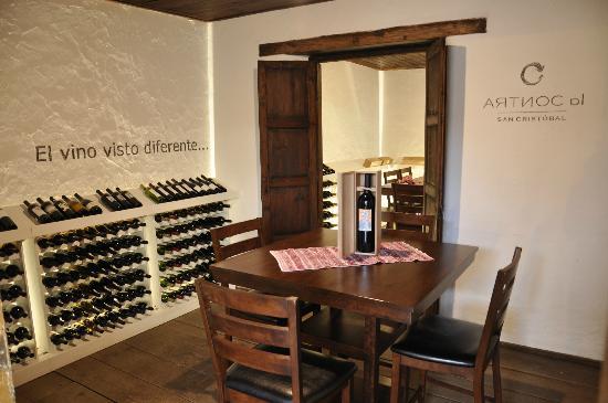 Tienda de vinos La Contra en Inter Vino