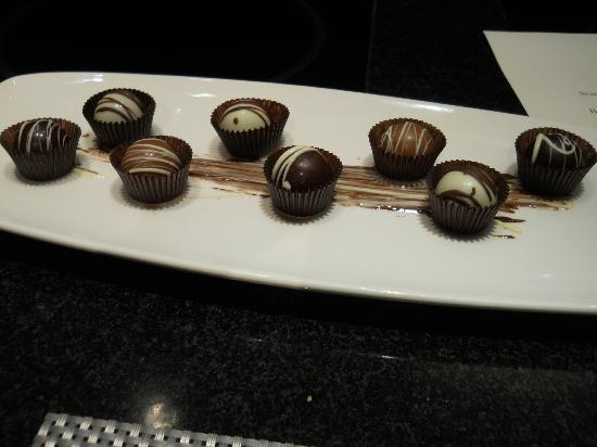 Broad Street Grille: House Made Truffles