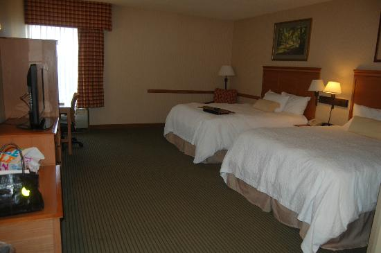 Hampton Inn Middletown : Oversized room 200