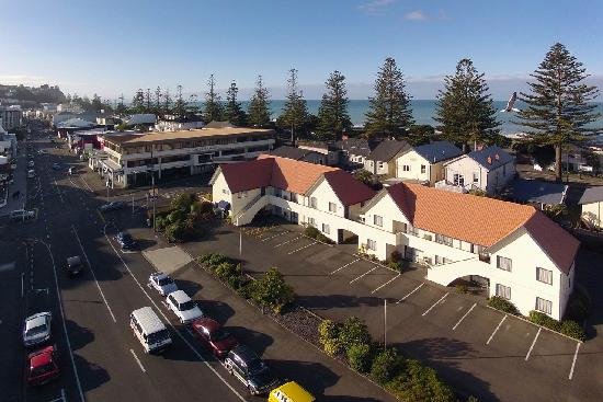 Bella Vista Motel: Birds-eye view of Bella Vista Napier