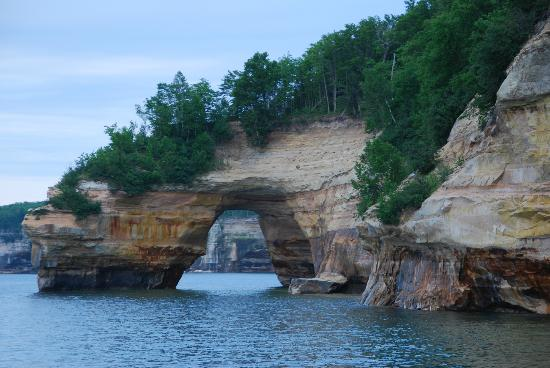 Pictured Rocks Cruises: Pictured Rock Portal