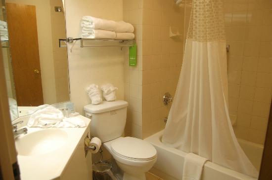 East Syracuse Inn: Bathroom