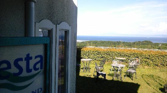 Wa Herb Garden Hotel Soraniwa : 外観と景色