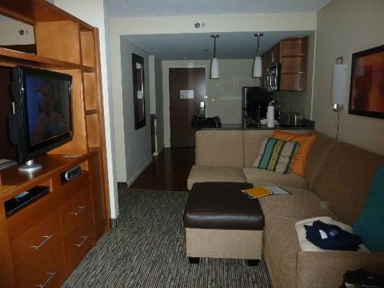 HYATT house Hartford North/Windsor: Living area