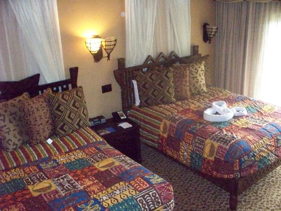 2 Double Beds In Second Bedroom Picture Of Disney 39 S Animal Kingdom Villas Kidani Village