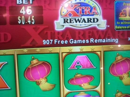 Choctaw Casino Resort: My Wife Won 910 Free Games