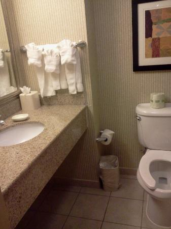 Holiday Inn Manassas - Battlefield: Super clean bathroom