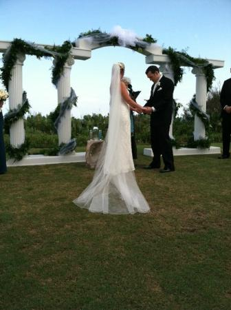 Blockade Runner Beach Resort Wedding Setting