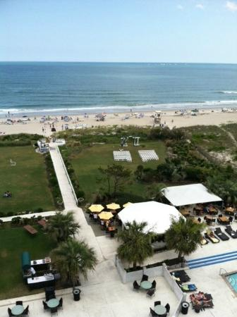Blockade Runner Beach Resort View From Bridal Suite On 7th Fl You Can See