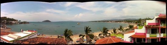 Decameron Los Cocos: vista hermosa desde habitación