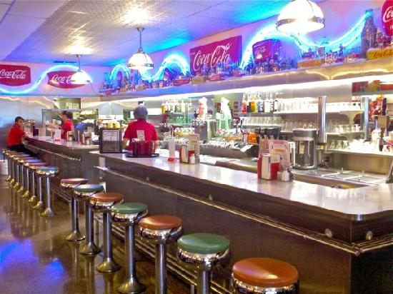 Dawson Stevens Clic Diner Counter Service At In Grayling