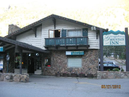 Georgetown Mountain Inn: Front of motel