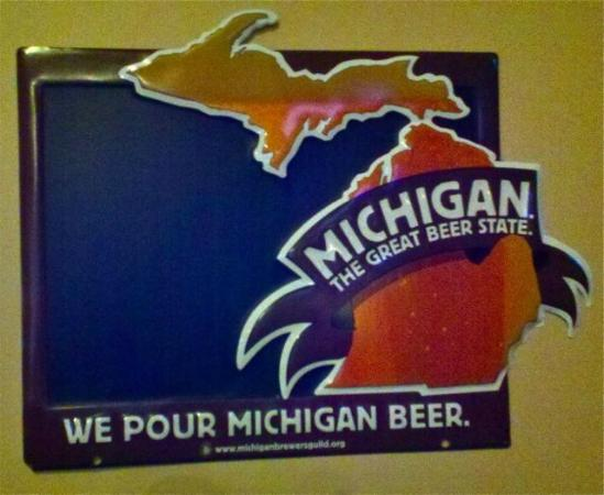 8th Street Grille: They pour Michigan beer as well as a number of other great microbrews.