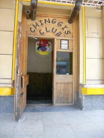 Chinggis Club: entrance