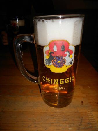 Chinggis Club: beer