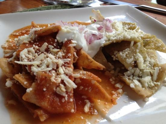 El Galeon: best chilaquiles ever!