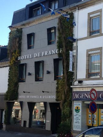 Hotel de France et d'Europe : La facade végétale