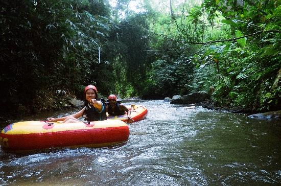 Bali River Tubing: Taken care by the guide