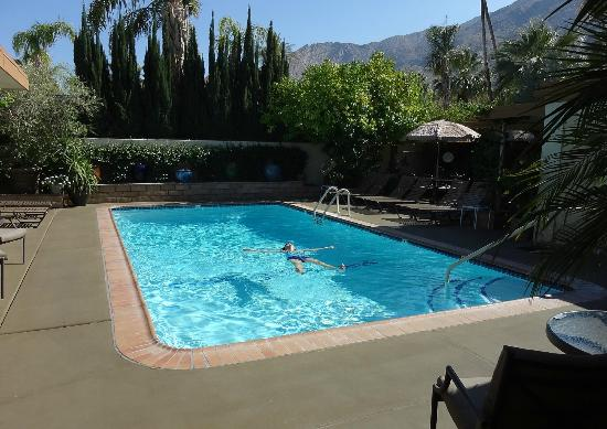 Old Ranch Inn: Pool, only shared by 8 rooms