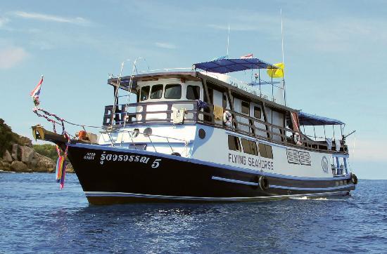 Lanta Diving Safaris: Flying Seahorse