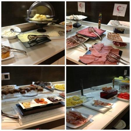 ILUNION Suites Madrid: Breakfast Line
