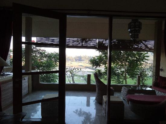 Green Field Hotel and Bungalows: 部屋からの風景