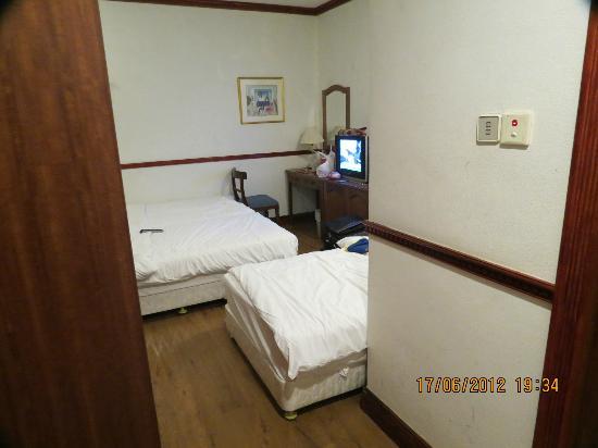 Park View Hotel: kamar sempit