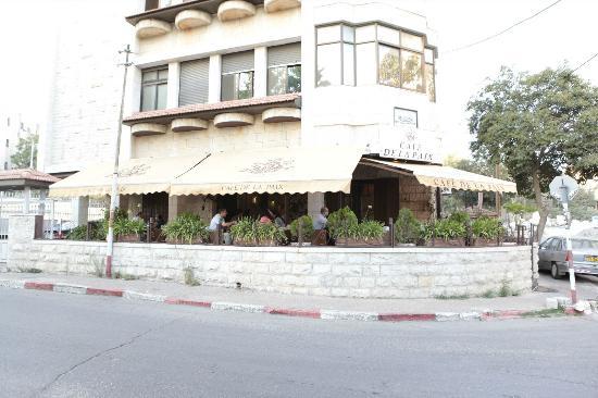 Cafe de la Paix: the outside terrace