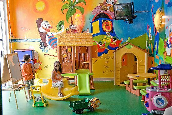 Hotel Palma de Majorca: La sala giochi