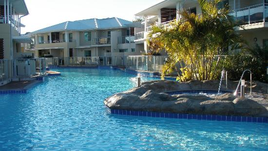 Oaks Pacific Blue Resort Salamander Bay: pool/spa