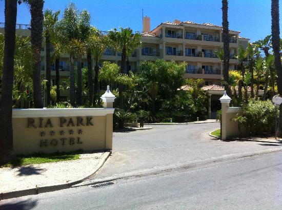 Ria Park Hotel: Entrance