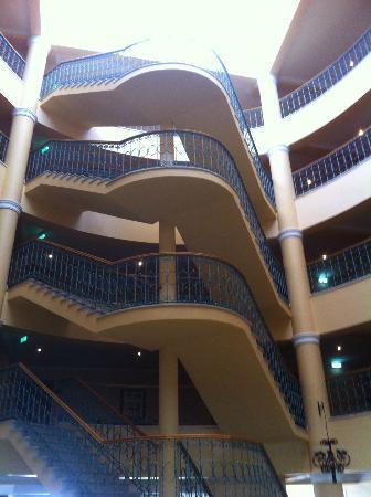 Ria Park Hotel&Spa: Stairwell