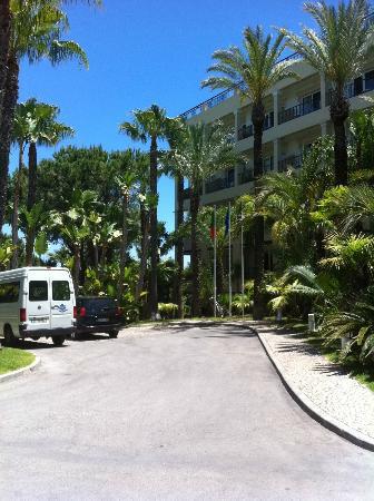 Ria Park Hotel: Courtyard