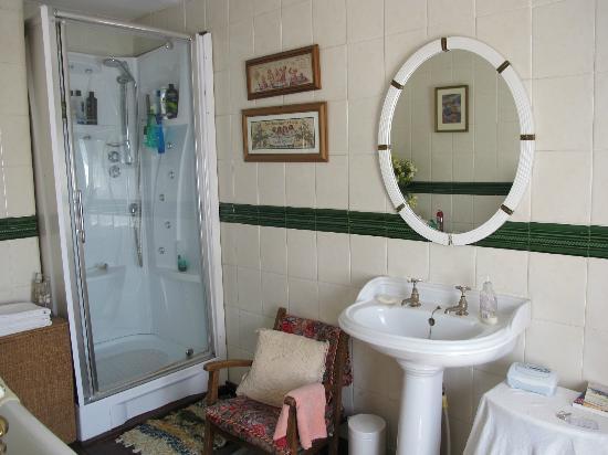 Huntington House: The modern shower