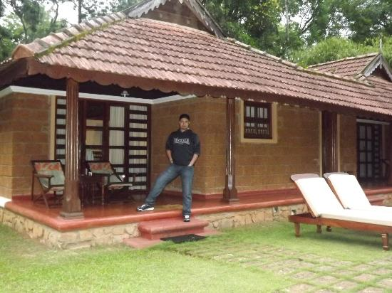 Orange County, Coorg: Backside of our villa