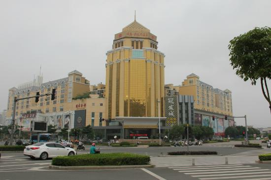 Guanfa Enjoy Hotel : located on a corner