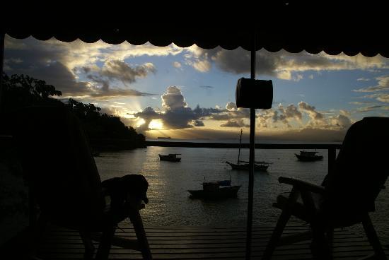 Vila Pedra Mar: Sunset from Honeymoon suite