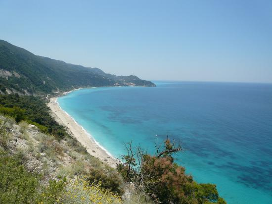 Mousses: Aghios Nikitas Beach