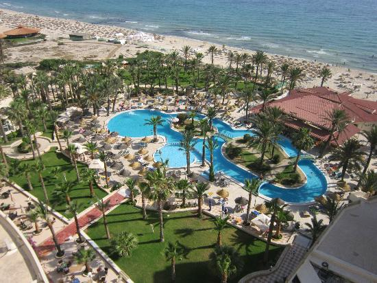 Riadh Palms Hotel: View from top floor