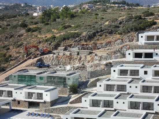 Ariadne Beach: View on the hotel in June 2012