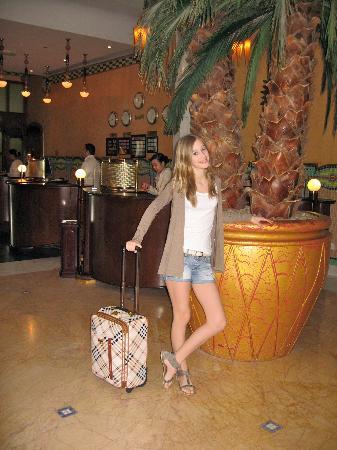 Le Meridien Abu Dhabi: Hotel lobby