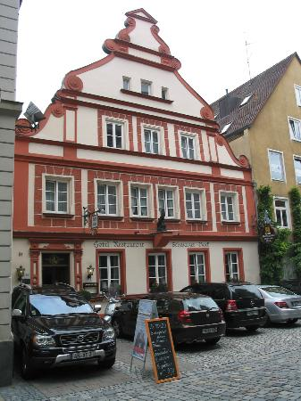 The Hotel Schwarzer Bock is THE place to stay in old town Ansbach!