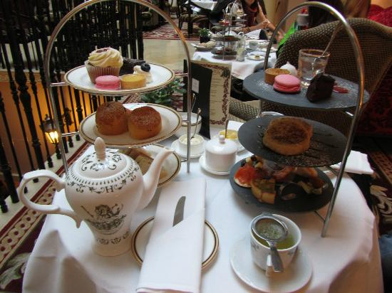The Westin Dublin: Afternoon Tea with Gin Mojito