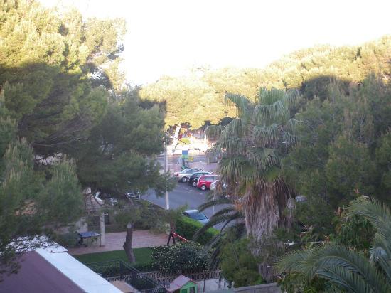 Principe Hotel : Blick aus dem fenster