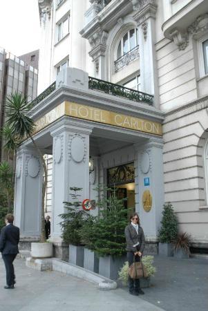 Carlton Hotel: Ingresso Hotel Carlton