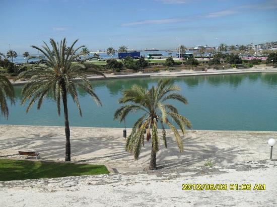 Principe Hotel : strand ausserhalb von unserem hotel