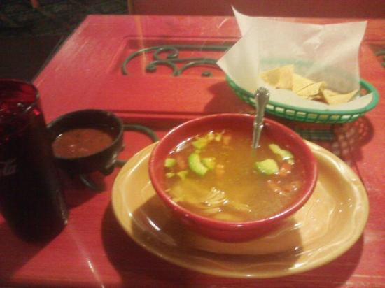 El Paraiso: Chicken soup